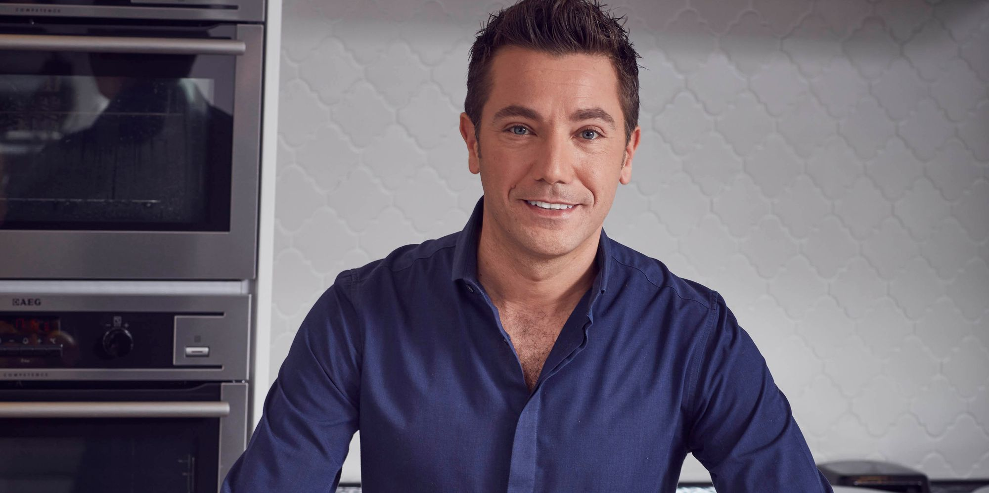 gino d acampo reveals why he d never want great british. Black Bedroom Furniture Sets. Home Design Ideas