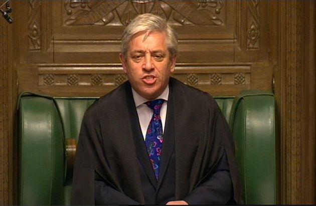 House of Commons Speaker John