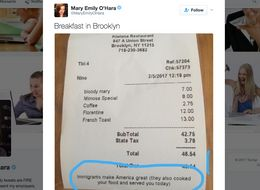 Restaurant Shows Customers What's Wrong With Trump's Anti-Immigrant Orders