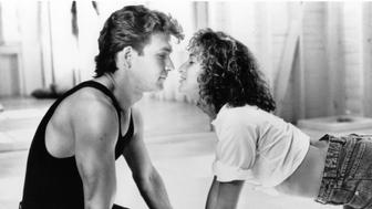 Patrick Swayze and Jennifer Grey in a scene from the film 'Dirty Dancing', 1987. (Photo by Vestron/Getty Images)