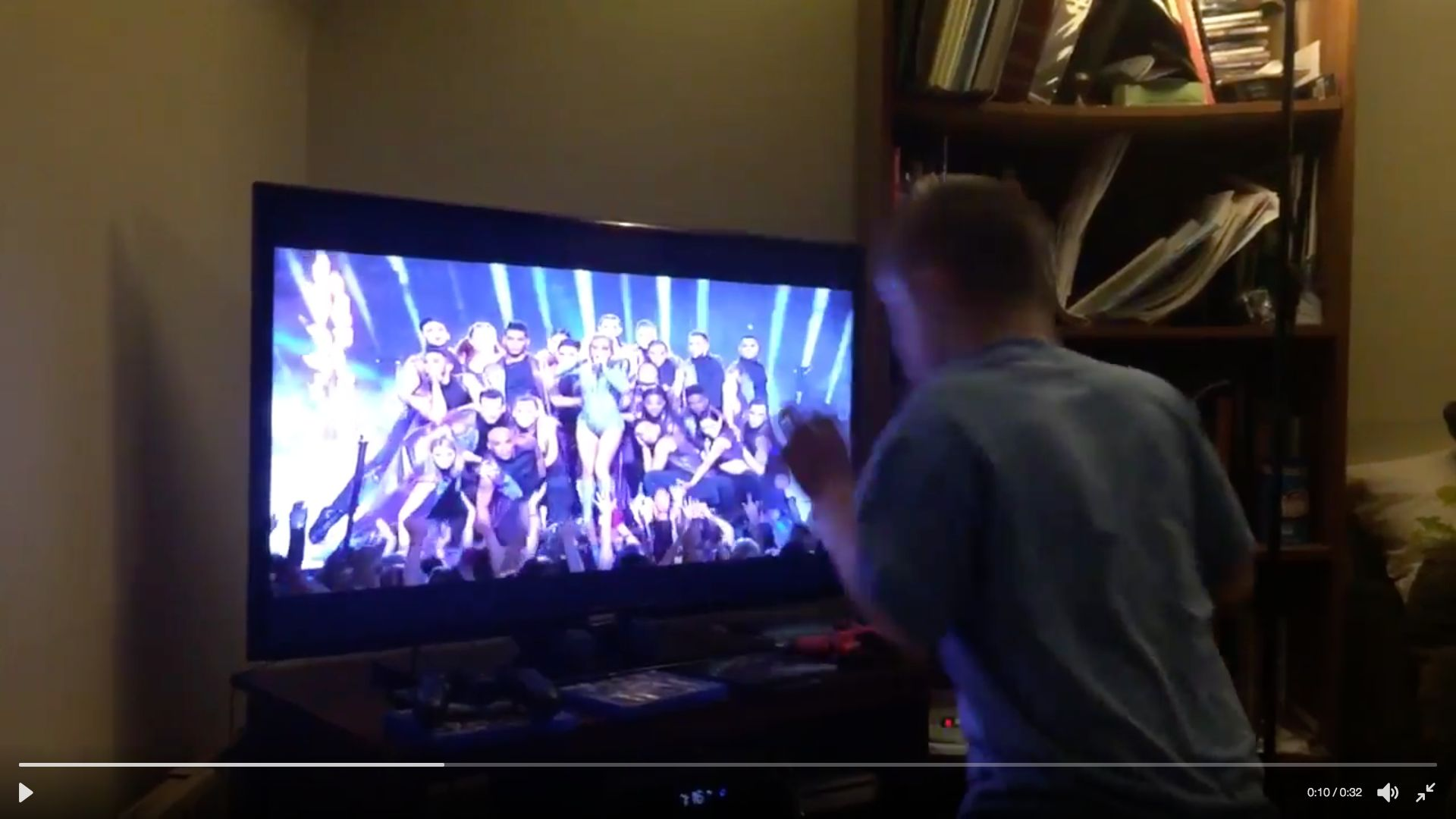 Nico a 10-year-old boy with Down syndrome is seen dancing along to Lady Gagas Born This Way