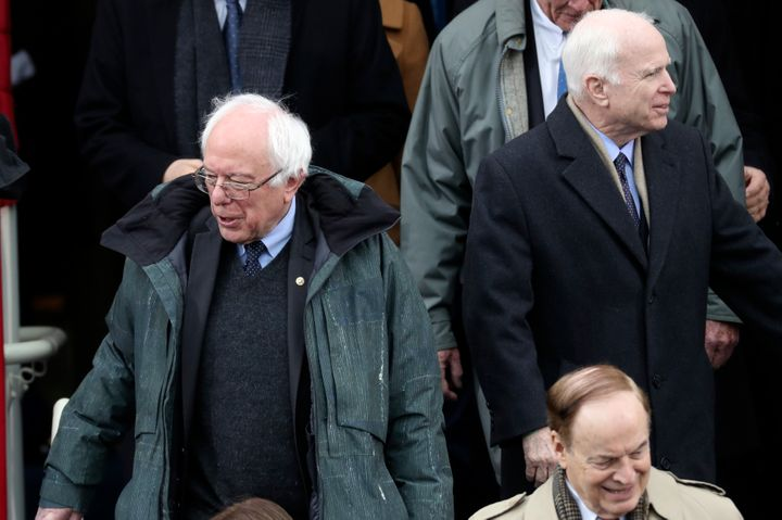 Senator Bernie Sanders' coat: kind of dope.