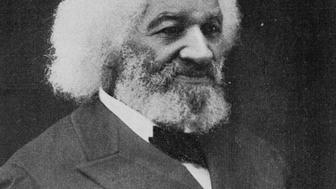 Black and white studio portrait of Frederick Douglass, an African-American social reformer, abolitionist, orator, writer, and statesman, 1902. From the New York Public Library. (Photo by Smith Collection/Gado/Getty Images).