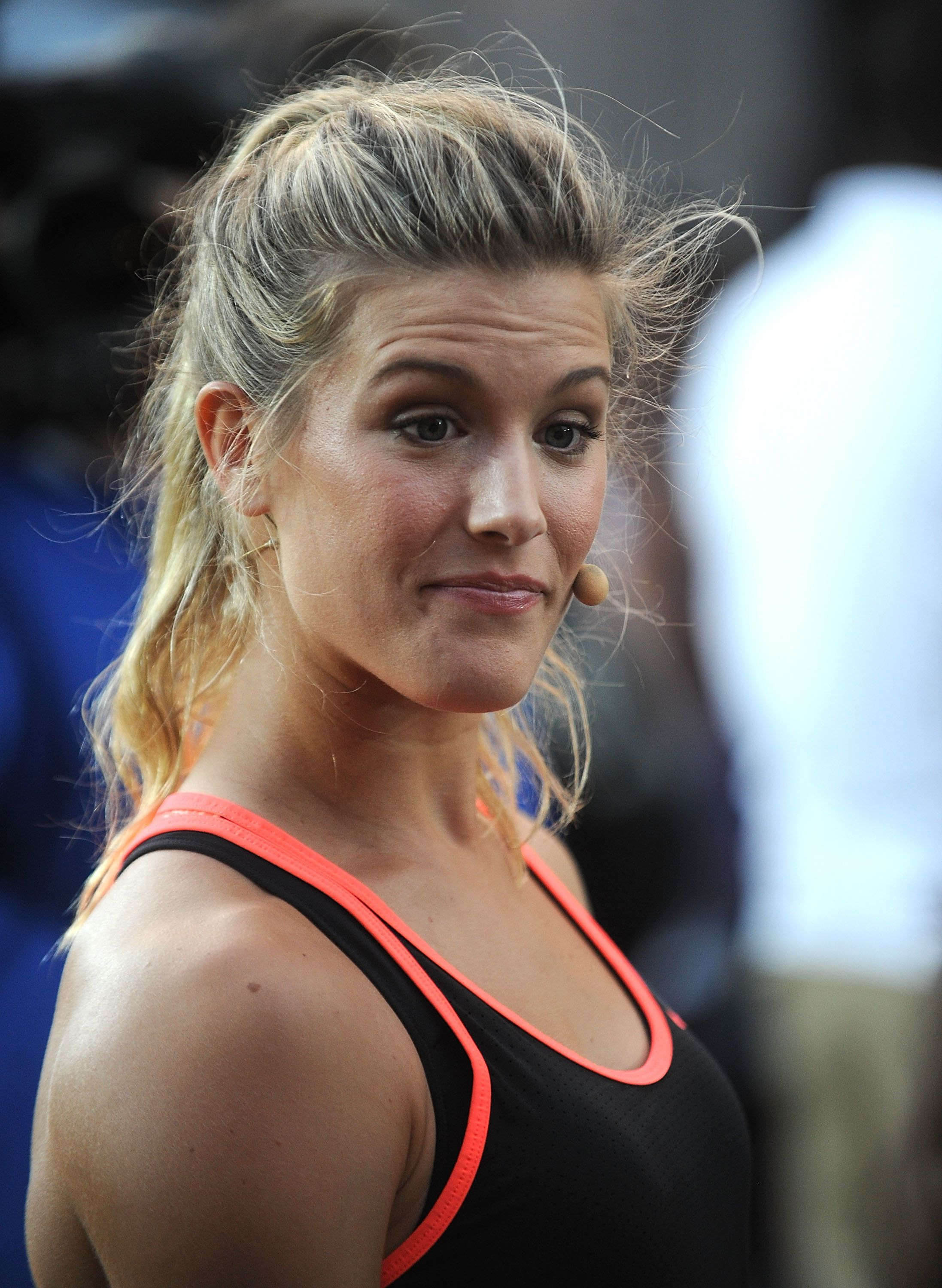 Tennis player Eugenie Bouchard, 22, was positive the Atlanta Falcons would win.