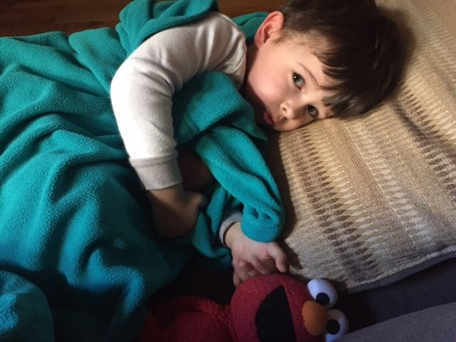 <p>Sick day for him — but not for me</p>