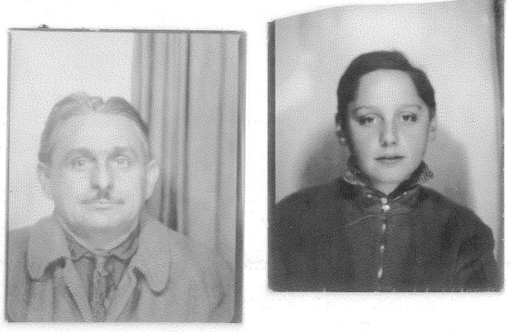 Moses Kozinski and his son, Alex, at age 10.