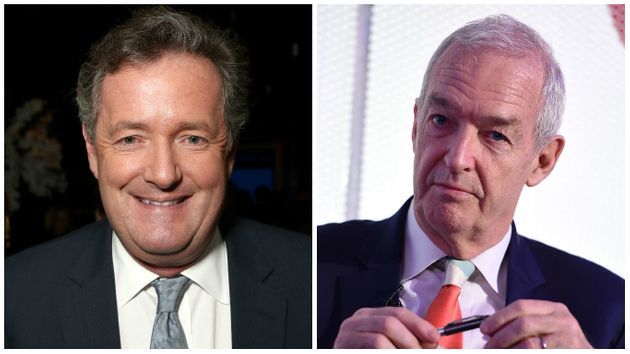 Piers Morgan and Jon Snow had a Twitter spat over fake