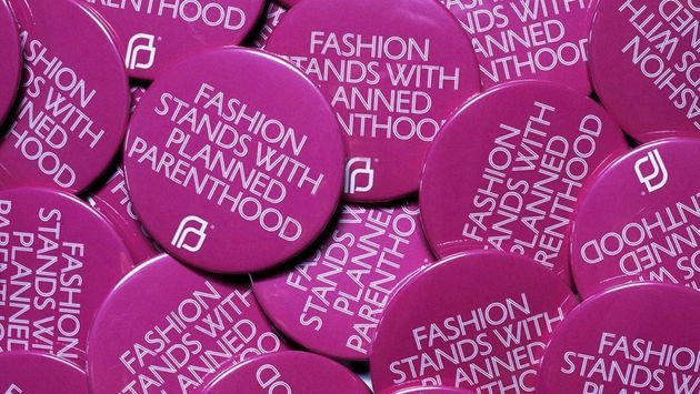 Here's Why Everyone Is Going To Be Wearing This 'Planned Parenthood' Badge At New York Fashion
