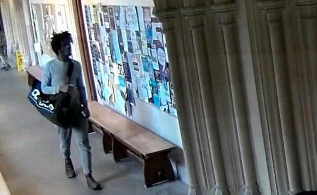 An Oxford University grad has accused the institution of racism after a college sent a security alert...
