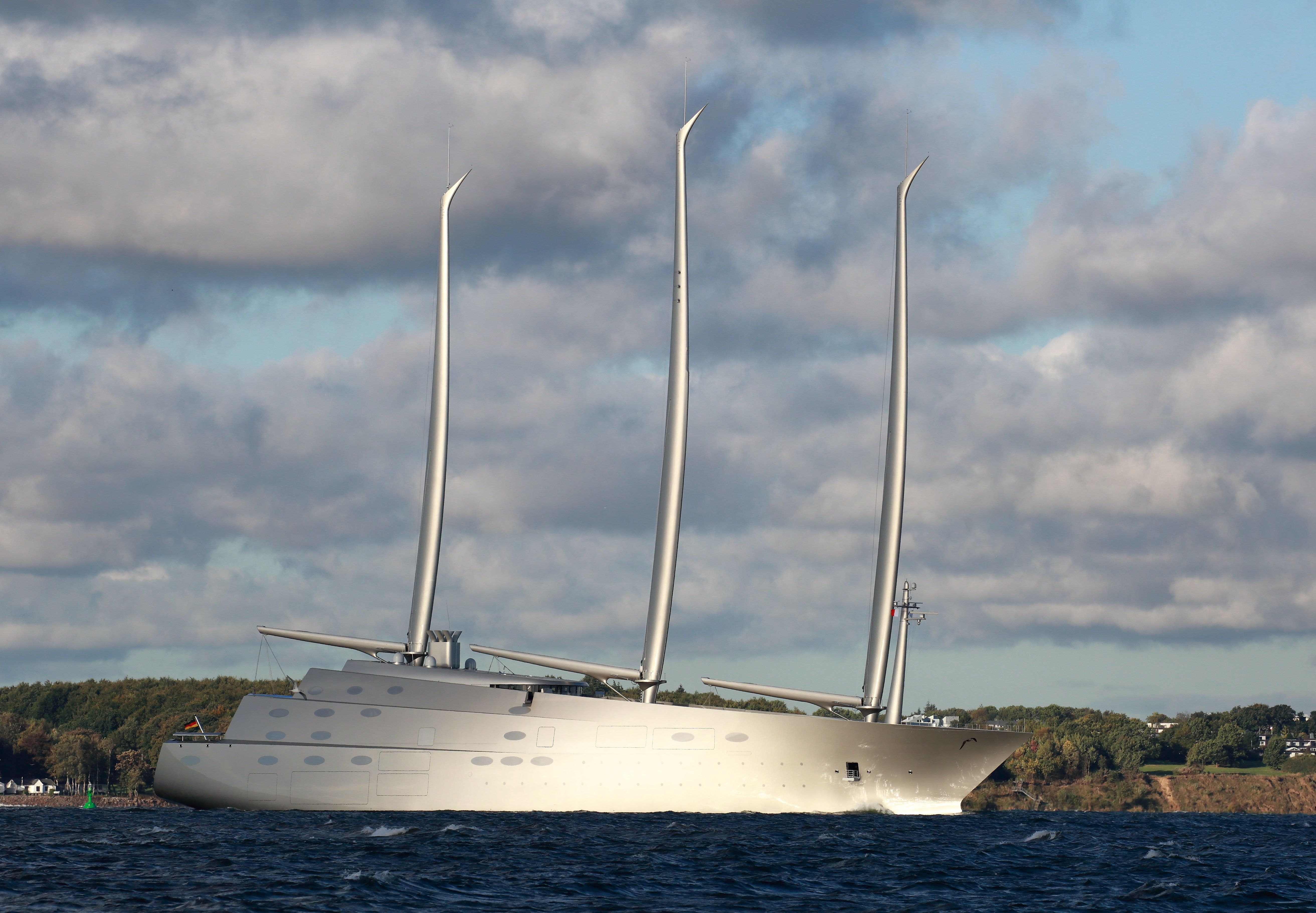 Sailing Yacht A The World S Most Futuristic Superyacht