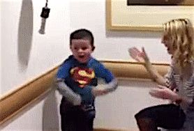 Little Boy, 6, Does The Most Adorable Dance To Celebrate End Of