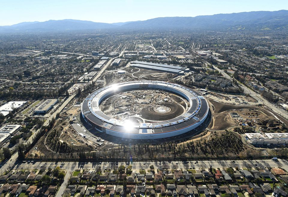 Apple Campus 2: Stunning Photos Show 'Spaceship' Campus Is Nearly