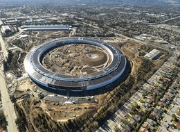 Apple's 'Spaceship' HQ Is Almost Finished And It Looks Absolutely Stunning