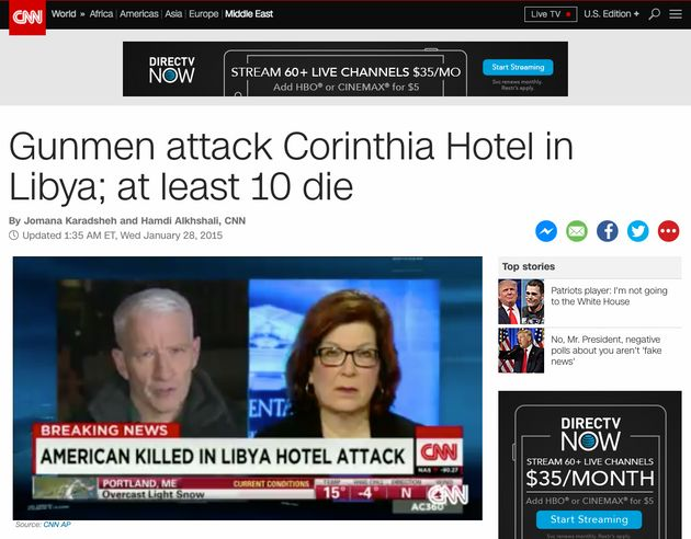 CNN's take on the Corinthia Hotel