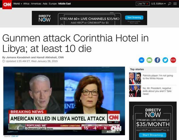 CNN's take on theCorinthia Hotel