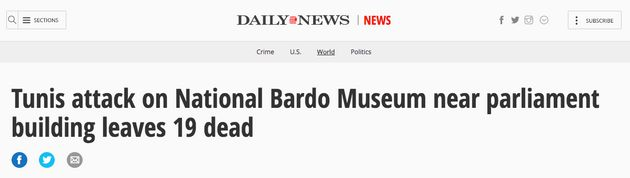 The New York Daily News covered the bardo Museum