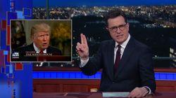Stephen Colbert Calls 'Bulls**t' On Trump's Continued Voter Fraud