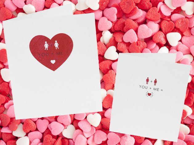 Sainsburys Releases Its First Ever SameSex Valentines Day Cards – First Valentine Day Card