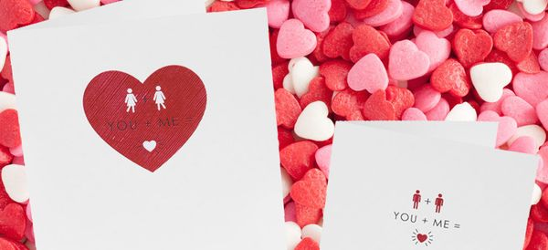 Love Is In The Air As Sainsbury's Releases Its First Ever Same-Sex Valentine's Day Cards