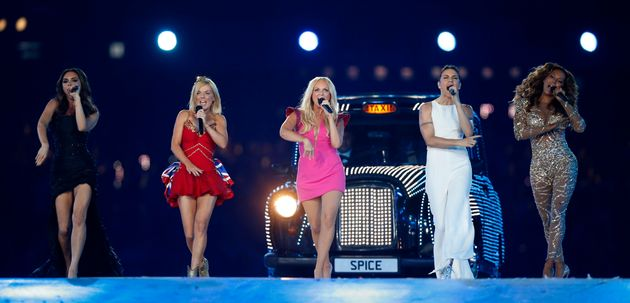 The Spice Girls last performed together at the London