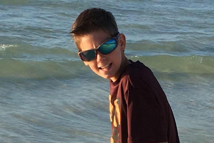 Henry Sembdner, 12, is recovering after an assault at his middle school last week.