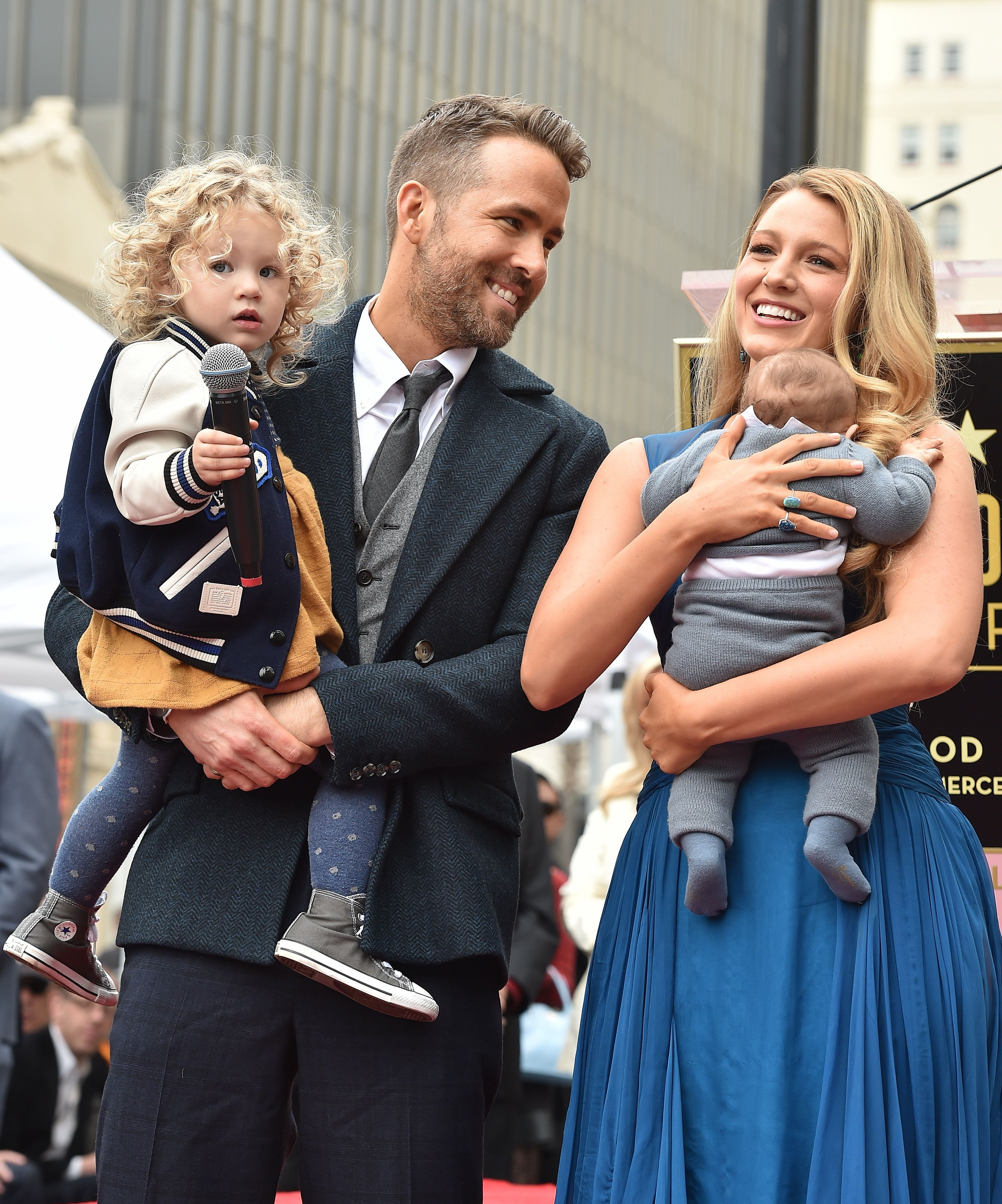Ryan Reynolds and Blake Livelyhave two daughters, James and