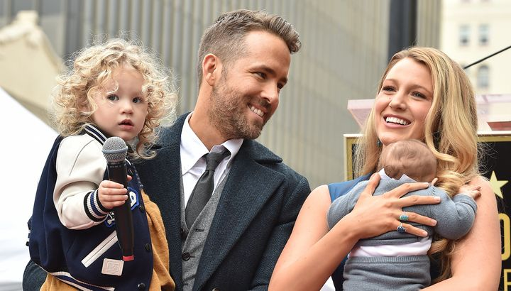 Ryan Reynolds and Blake Livelyhave two daughters, James and Ines.