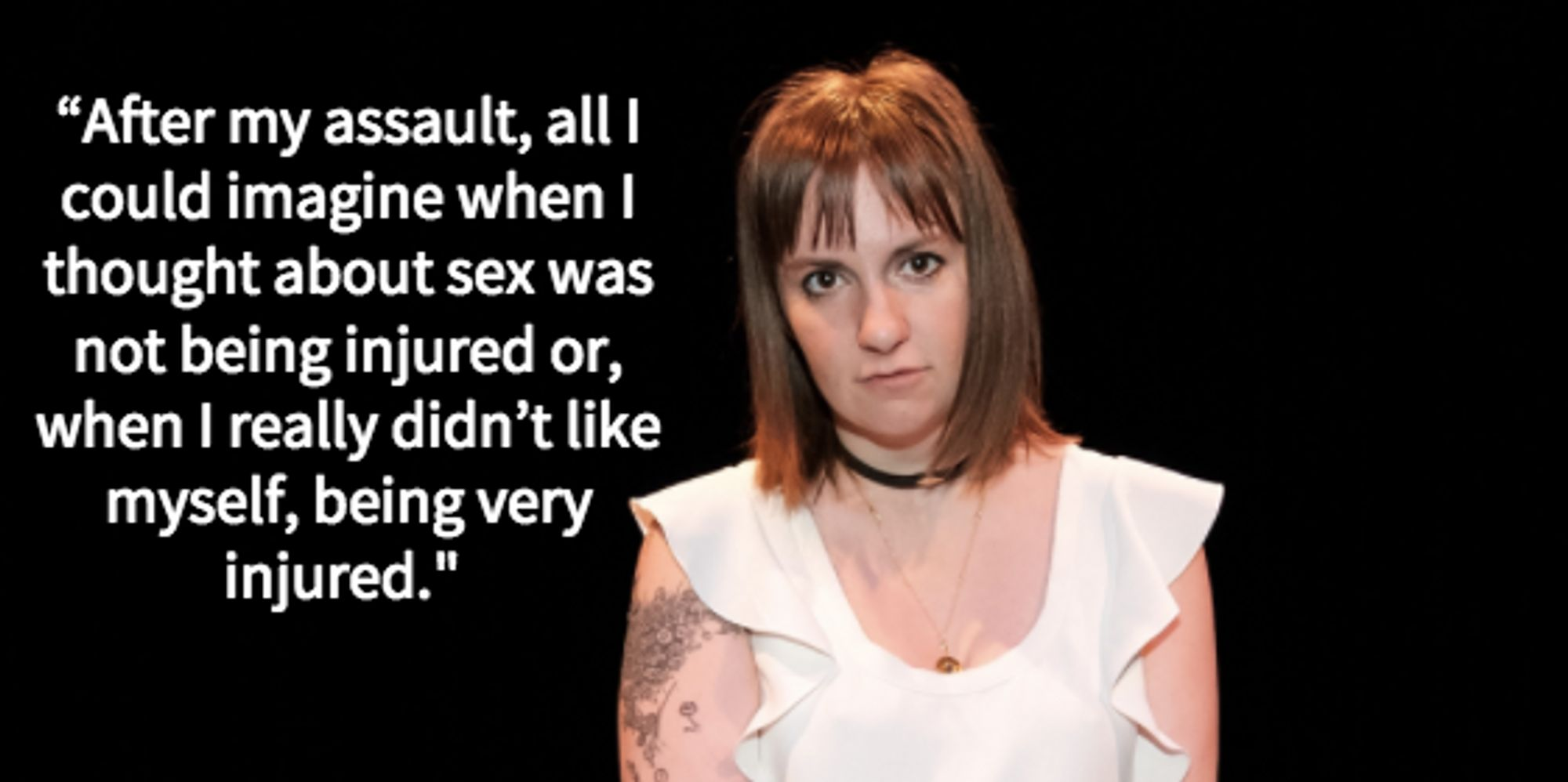lena dunham opens up about sexual healing after assault in lena dunham opens up about sexual healing after assault in poignant essay the huffington post