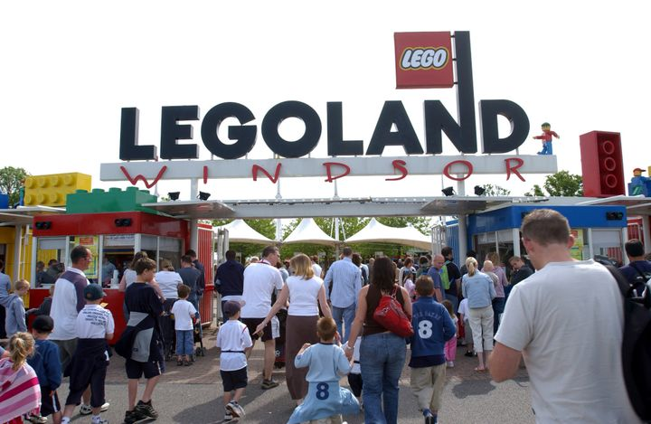 Dozens of marijuana plants were found growing at Legoland near London this week.