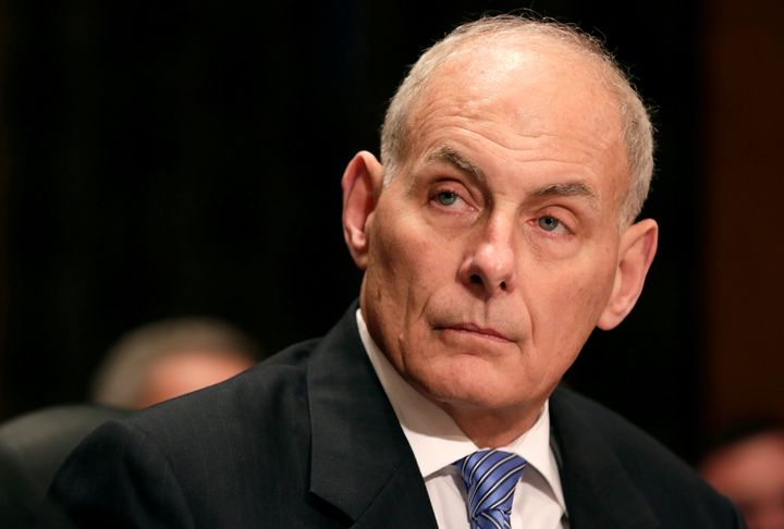 Homeland Security Secretary John Kelly argued Tuesday that a delay of the president's travel ban could put America at ri