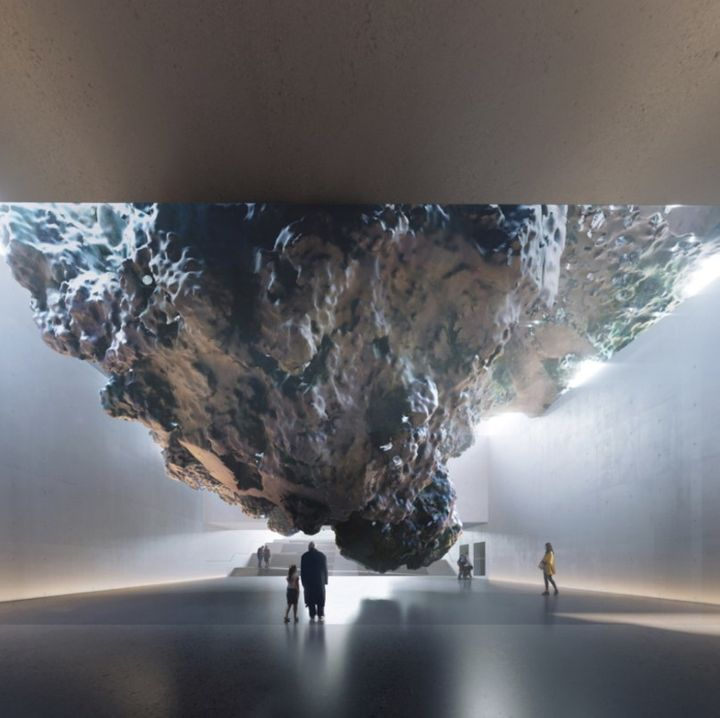 <p>Zaha Hadid Architects and Anish Kapoor's design for the UK National Holocaust Memorial competition.</p>