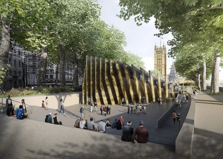 The design submitted by Adjaye Associates and Ron Arad Architects.