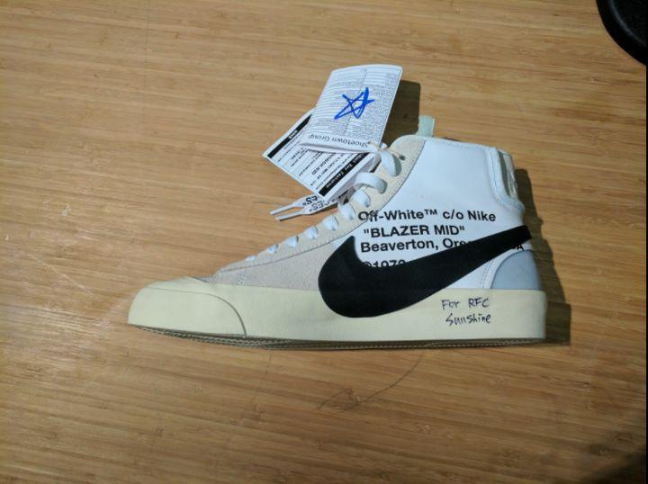 <p>Off White x Nike Blazer</p>