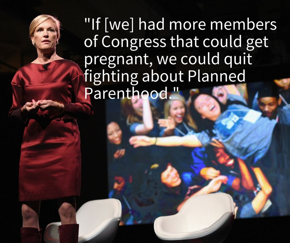 Cecile Richards spoke about Planned Parenthood and what comes next at the MAKERS Conference on Feb. 7.