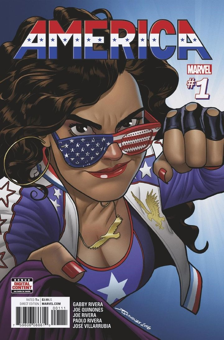 The main cover from America #1.