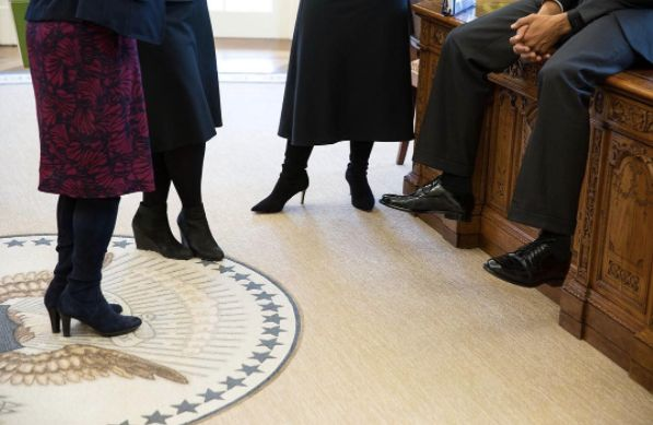 Obama's Photographer Posted Photo Of 'Top Advisors' To Make A Point About