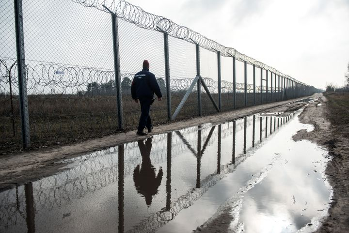 Hungary erected fences along its Serbian, Croatian and Slovenian borders to divert illegal immigrants in 2015