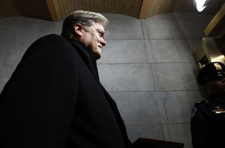 Steve Bannon, President Trump's senior counselor, is more right-wing than many more traditional Republicans are comforta