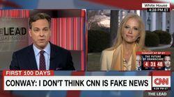 CNN'S Jake Tapper Condemns Trump Aide Kellyanne Conway For Terrorism