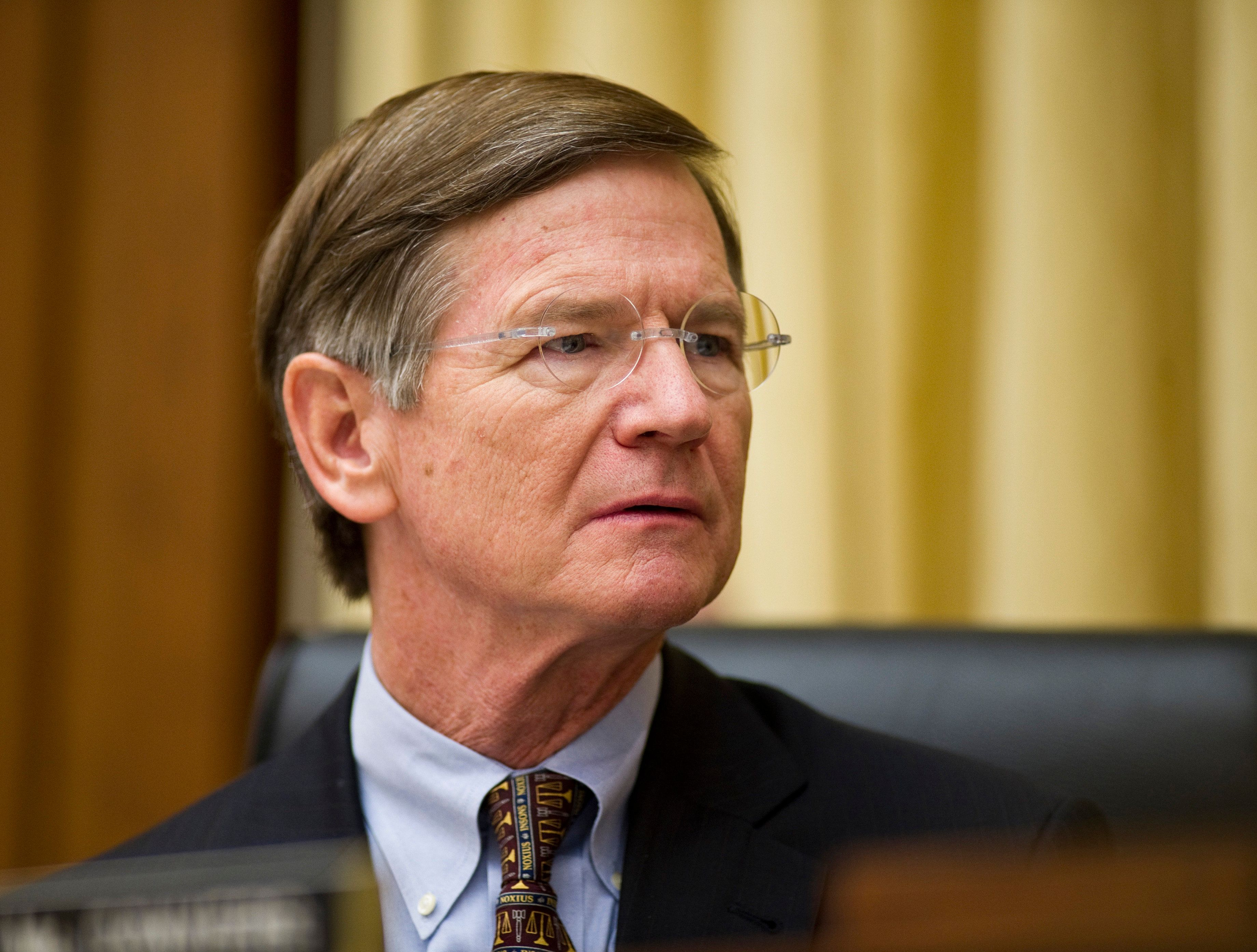 WASHINGTON, DC- Jan. 20: Chairman Lamar Smith, R-Texas, during the House Judiciary hearing on medical liability issues. (Photo by Scott J. Ferrell/Congressional Quarterly/Getty Images)
