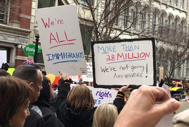 Women's March Washington D.C.