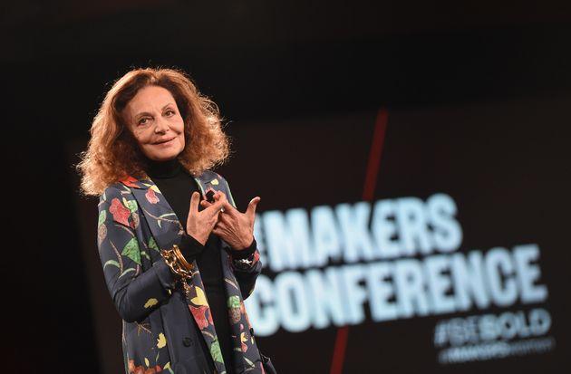 Diane Von Furstenberg Shares Five Life Lessons For