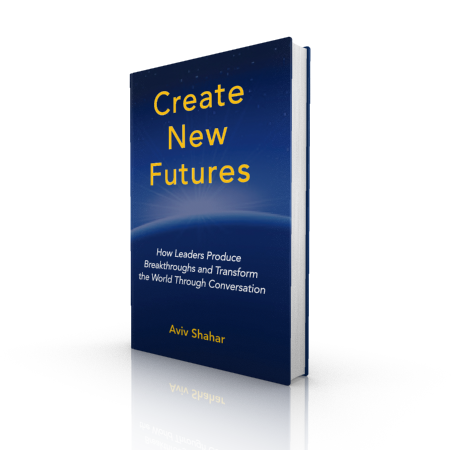 Create New Futures is Aviv's new book to get you asking yourself new questions shift your future further into your control.