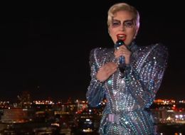 So Lady Gaga Didn't Actually Jump From The Roof During Her Super Bowl Set