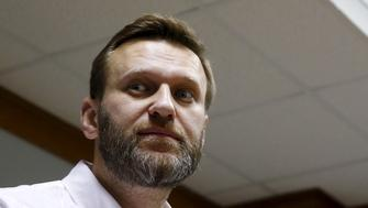 Russian anti-corruption campaigner and opposition figure Alexei Navalny attends a hearing at the Moscow City Court in Moscow, Russia, February 12, 2016. Moscow court hears an appeal by Navalny on the amount of damage that he needs to pay to the state timber firm Kirovles, local media reported. REUTERS/Maxim Shemetov