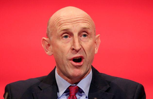 Labour's Shadow Housing Secretary John