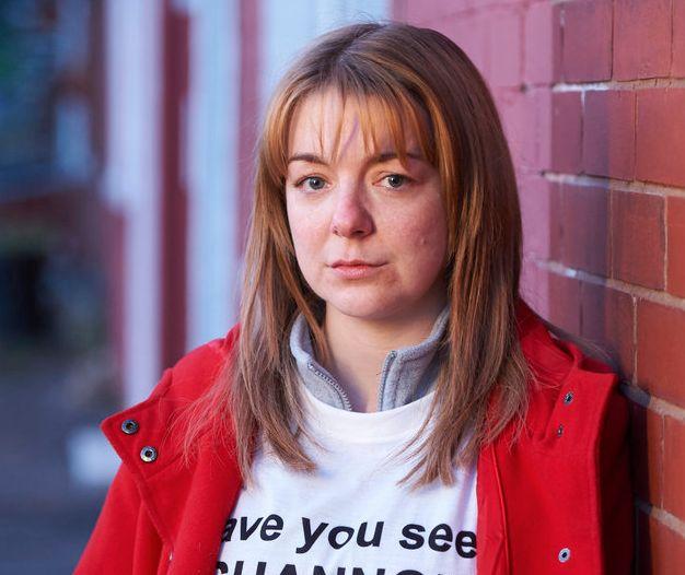 Sheridan Smith plays Karen Matthews best friend Julie Bushby in 'The Moorside'
