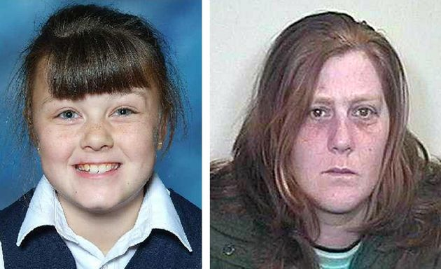 Undated police handouts of Shannon Matthews, left and mother Karen,