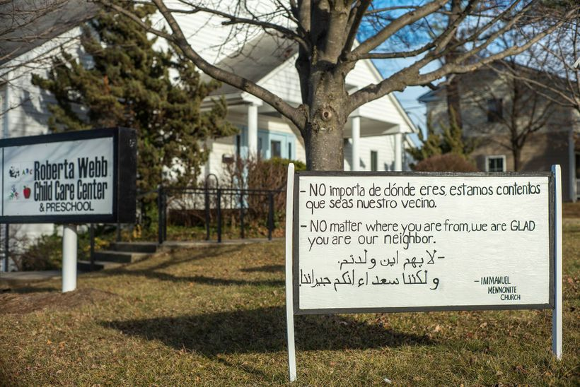 The national @welcomeyourneighbors movement originated in Harrisonburg, Virginia.