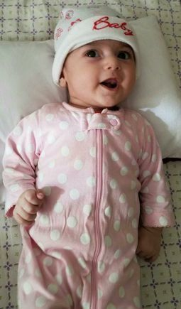 Tests on Fatemeh Reshad, a 4-month-old Iranian girl witha heart condition, confirm she has aninjury to her lungs,